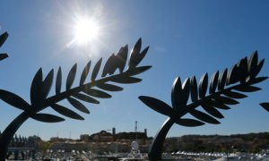 The sun shines down on the Cannes film festival