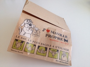 French Poop bag