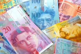 Swiss Franc notes