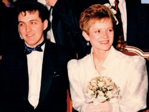 Mel and Stefan Wedding
