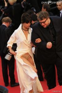 Sophie Marceau wardrobe dysfunction