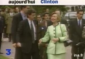Hillary Clinton Paris 1994