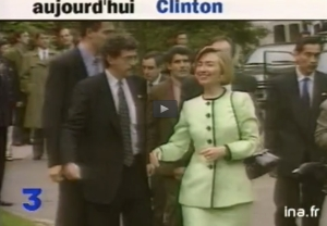 Hillary Clinton Paris 1994