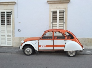 Cute car in Italy