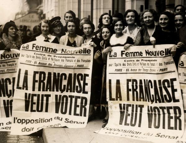La suffrage