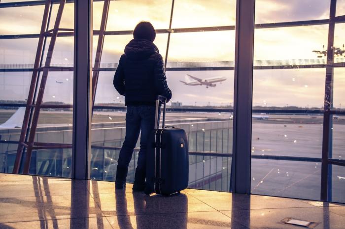 Set down your suitcase