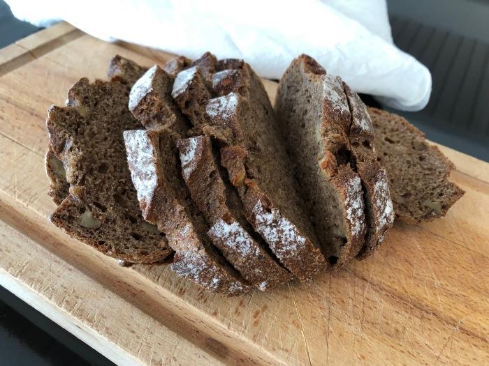 Bread on my cutting board